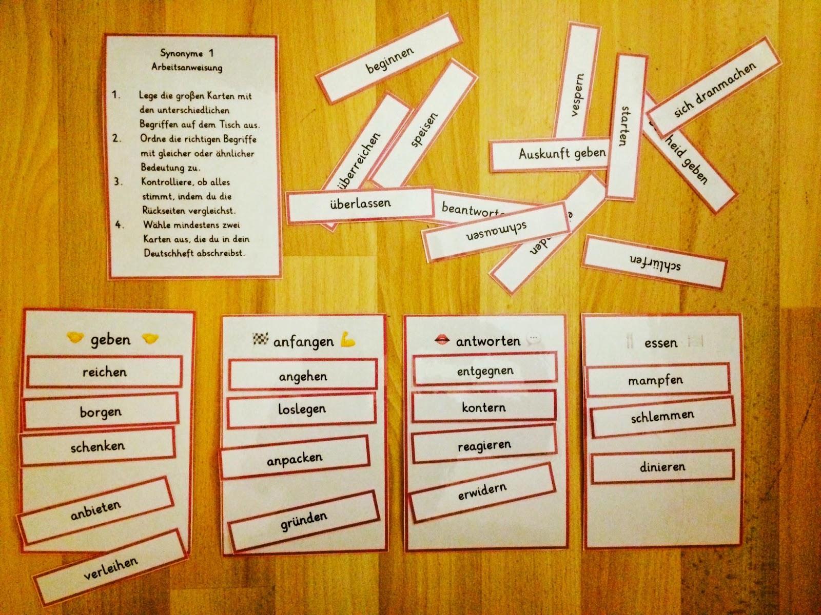 Immer die gleichen w rter synonyme helfen teil 3 4 - Helfen synonym ...