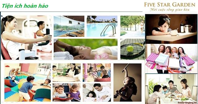 Điểm đặc sắc đáng chú ý tại Chung cư Five Star Kim Giang