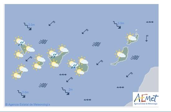 Lluvias en Canarias, hasta el martes 20 de diciembre
