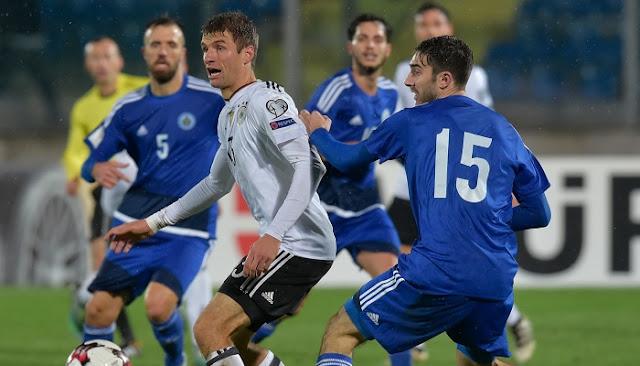 Alemania vs San Marino en vivo
