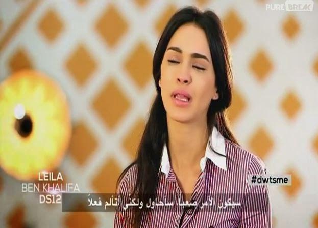 Leila Ben Khalifa blessée dans Danse avec les Stars