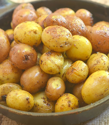 Instant Pot Herb Roasted Potatoes