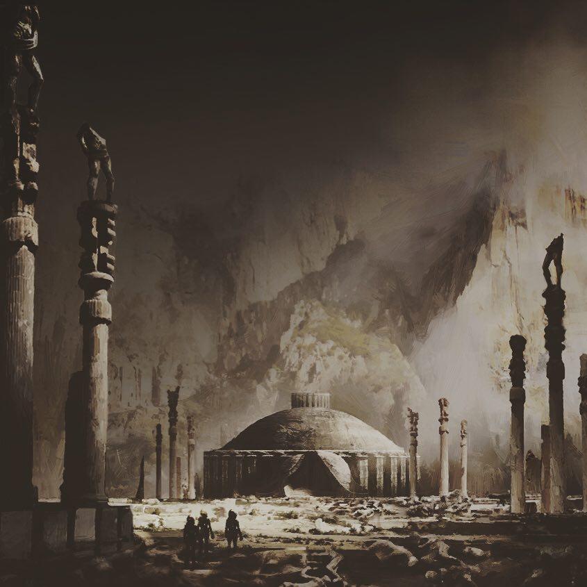Alien Explorations: Alien Covenant: Steve Messing's Artwork