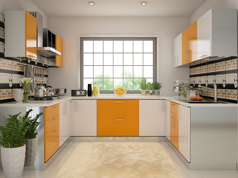 100 Modular Indian kitchen designs, ideas, colors, cabinets ...