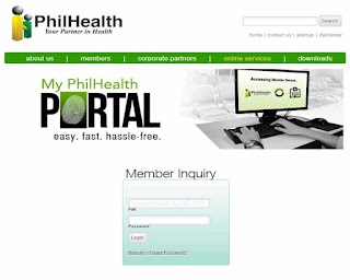 PhilHealth Online Registration – Members Contribution Inquiry