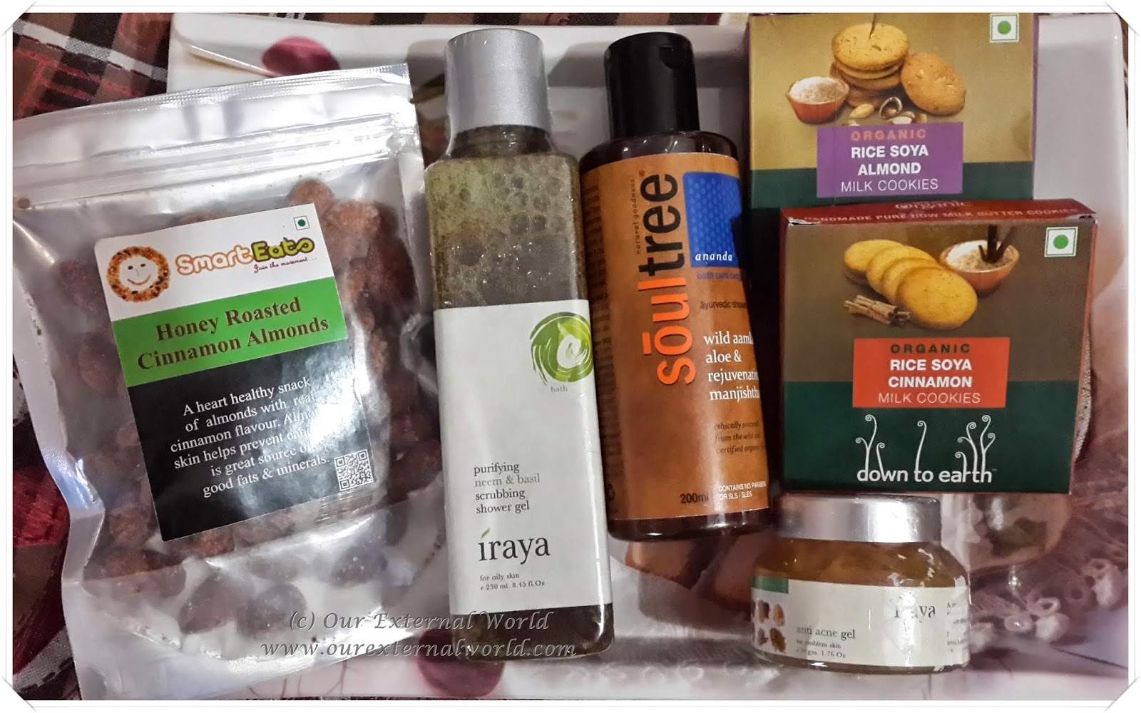 Natural Beauty Haul - JoyByNature Online Shopping Review
