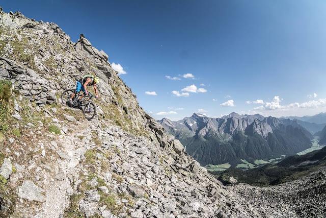 Technischer Trail Sterzing S3 Mountainbike Europahütte