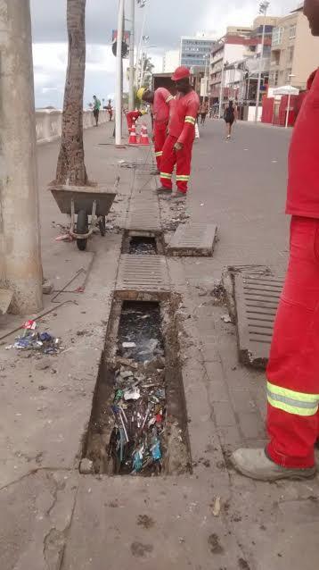 População pode solicitar desobstrução da rede de drenagem ligando 156