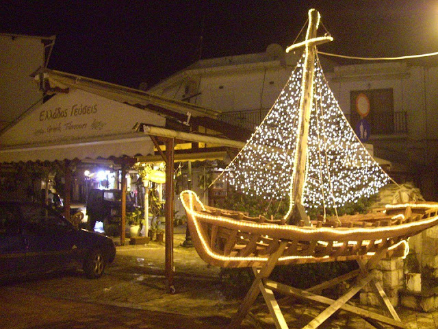 Christmas Boat  Skiathos Photo, Taxi- George Kordelas