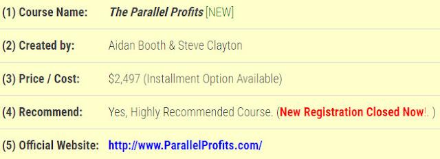 Parallel Profits, Parallel Profits Bonus, Parallel Profits Review,