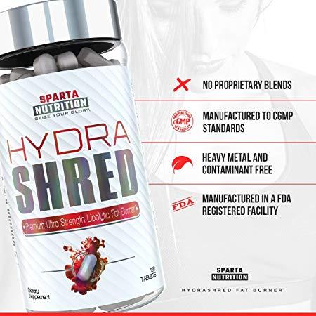 LaProteina es - Sparta Nutrition Hydra Shred 120 Tabs
