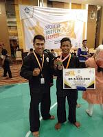 Sukirman, Pelajar SMPN 4 Bolo Sabet Medali Emas di Ajang 02SN Jogyakarta