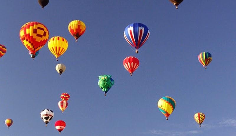 Balon terbang wallpapers untuk anak
