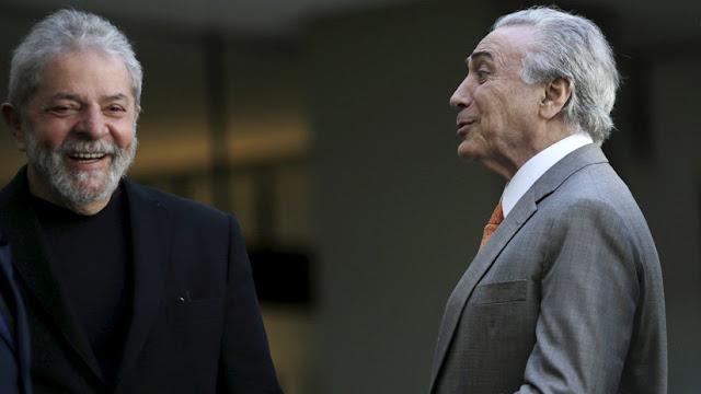 """Brasil: A Temer le gustaría que Lula """"pueda disputar las elecciones y sea vencido por el voto"""""""