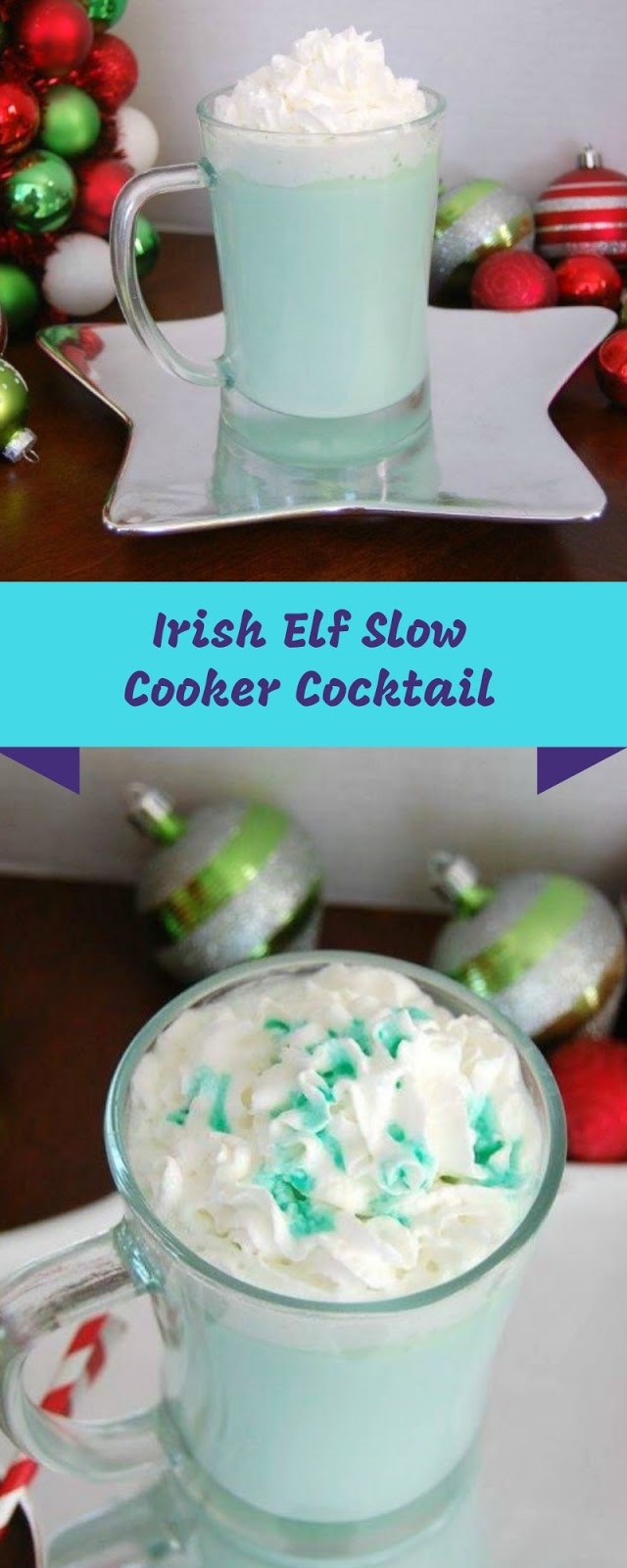 Irish Elf Slow Cooker Cocktail