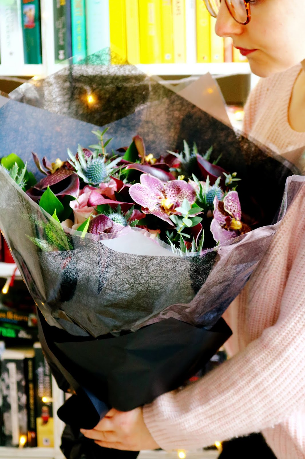 Haute Florist 'Belle In Black' Bouquet