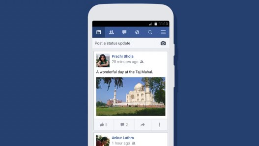 Facebook lite that can watch video
