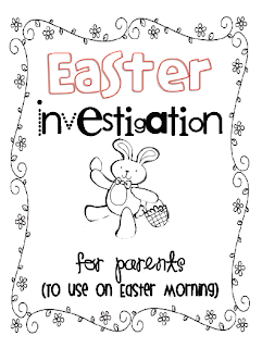 Sarah's First Grade Snippets: At-home Easter reading Fun