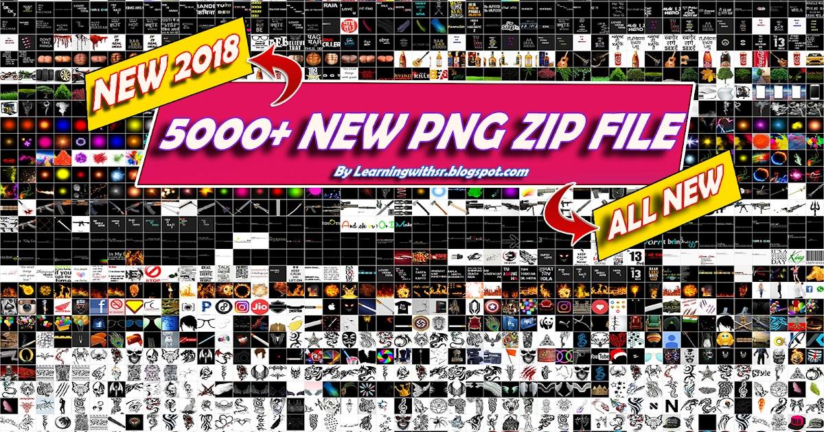 5000 New Picsartphotoshop Png Of 2018 Zip File New Picsart