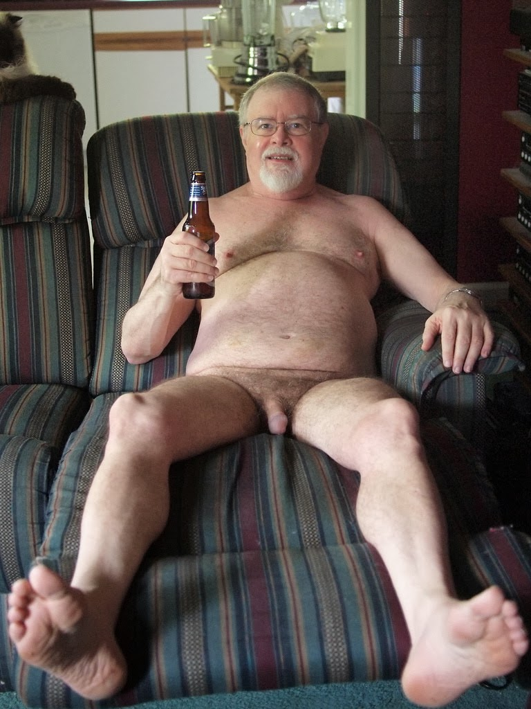 Older daddy gay nude