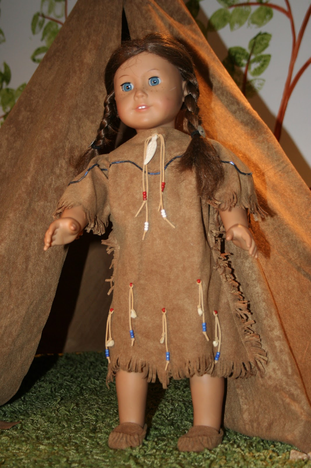 Arts And Crafts For Your American Girl Doll Native