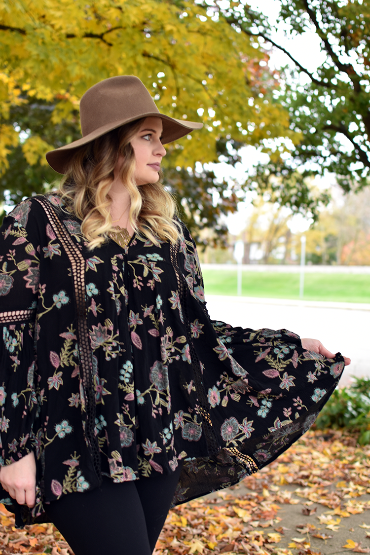 9eeb67ee722 Free People Floral Tunic. free people just the two of us ...