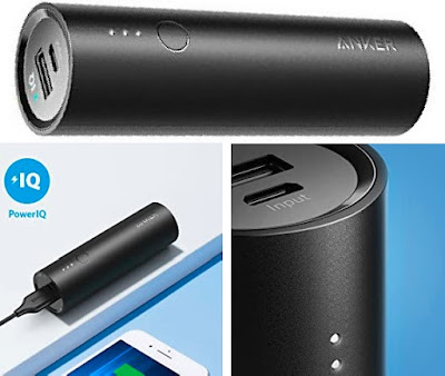 Anker Mini PowerCore 5000 - Portable Pocket-Sized Power Bank Phone Charger