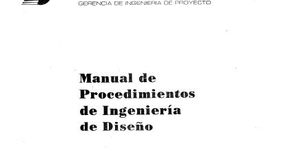 INGENIERIA ELECTRICA: MANUAL DE PROCEDIMIENTOS DE