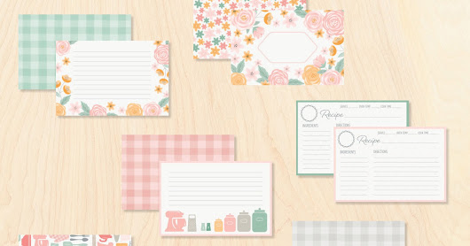 Kitchen Traditions Recipe and Scrapbooking