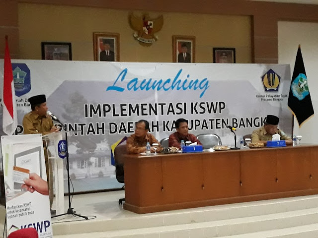 Bupati Bangka Resmikan Program KSWP