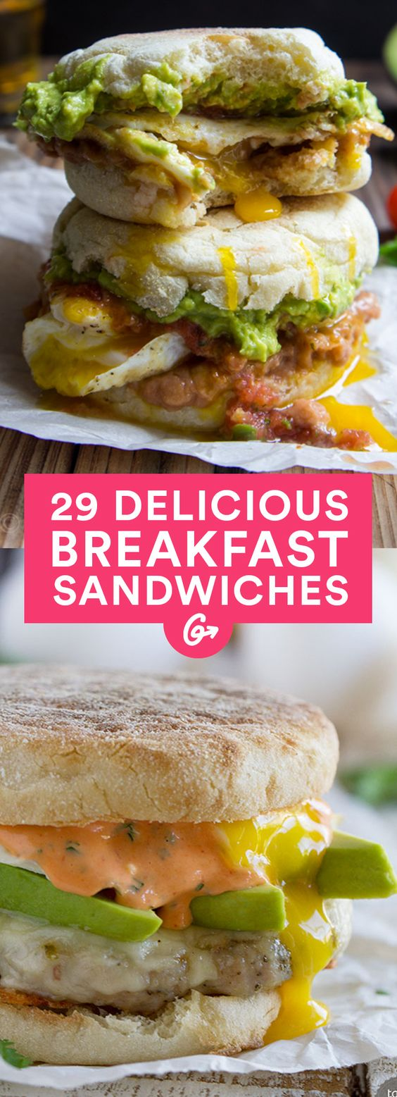 E 27 Breakfast Sandwiches That Cure a Hangover With Less Grease