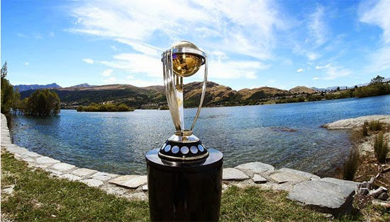Trophy of ICC T20 World Cup 2014