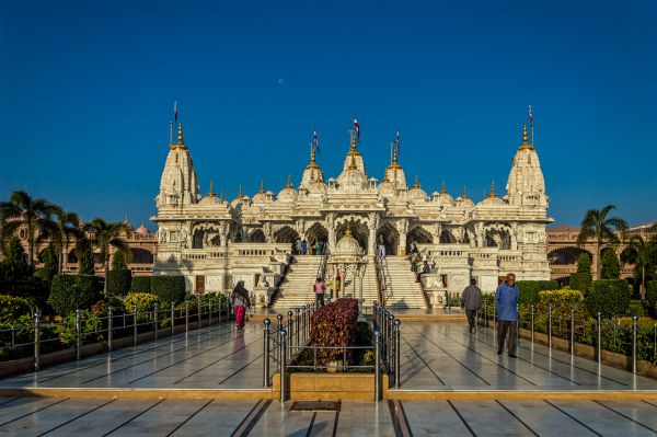 Frontal view of Swaminarayan Temple Bhuj