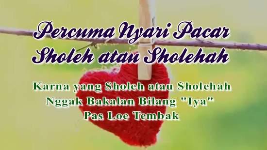 Pacar Sholehah atau Pacar Sholeh