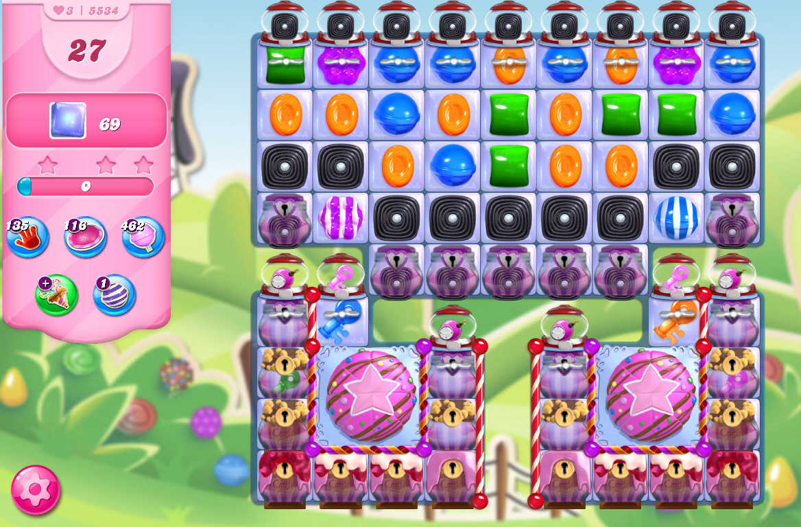 Candy Crush Saga level 5534