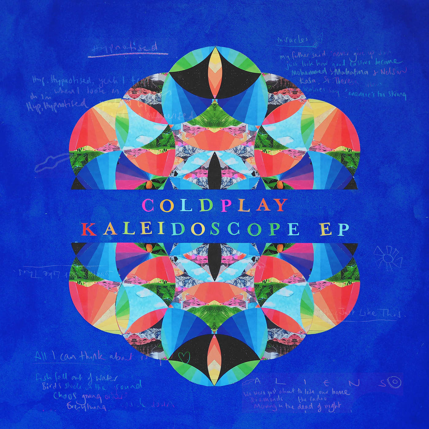 Coldplay - A L I E N S - Single Cover