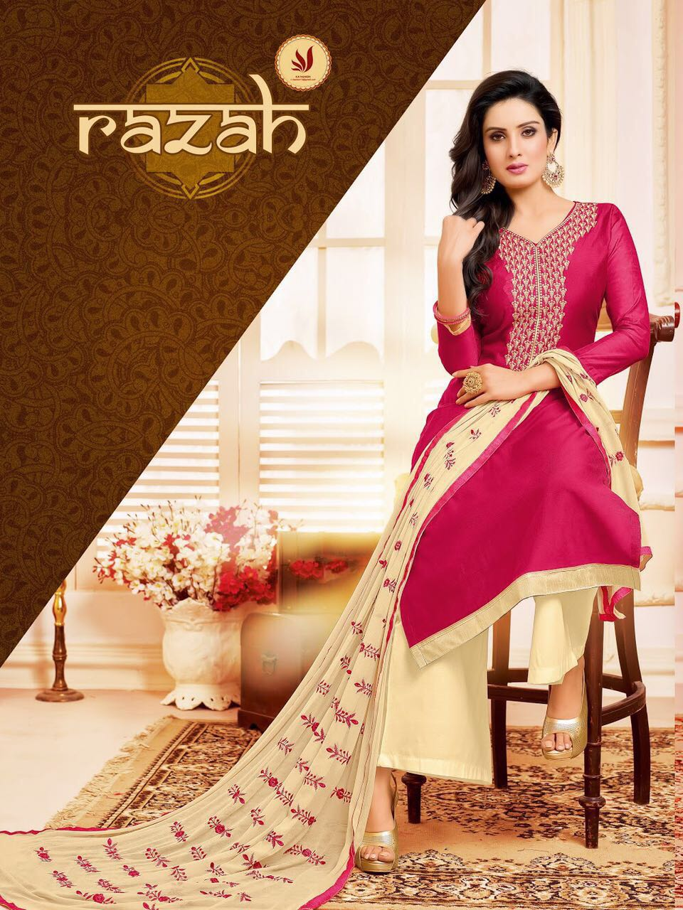 RAZAH-New Arrival Modal Silk Dress Material
