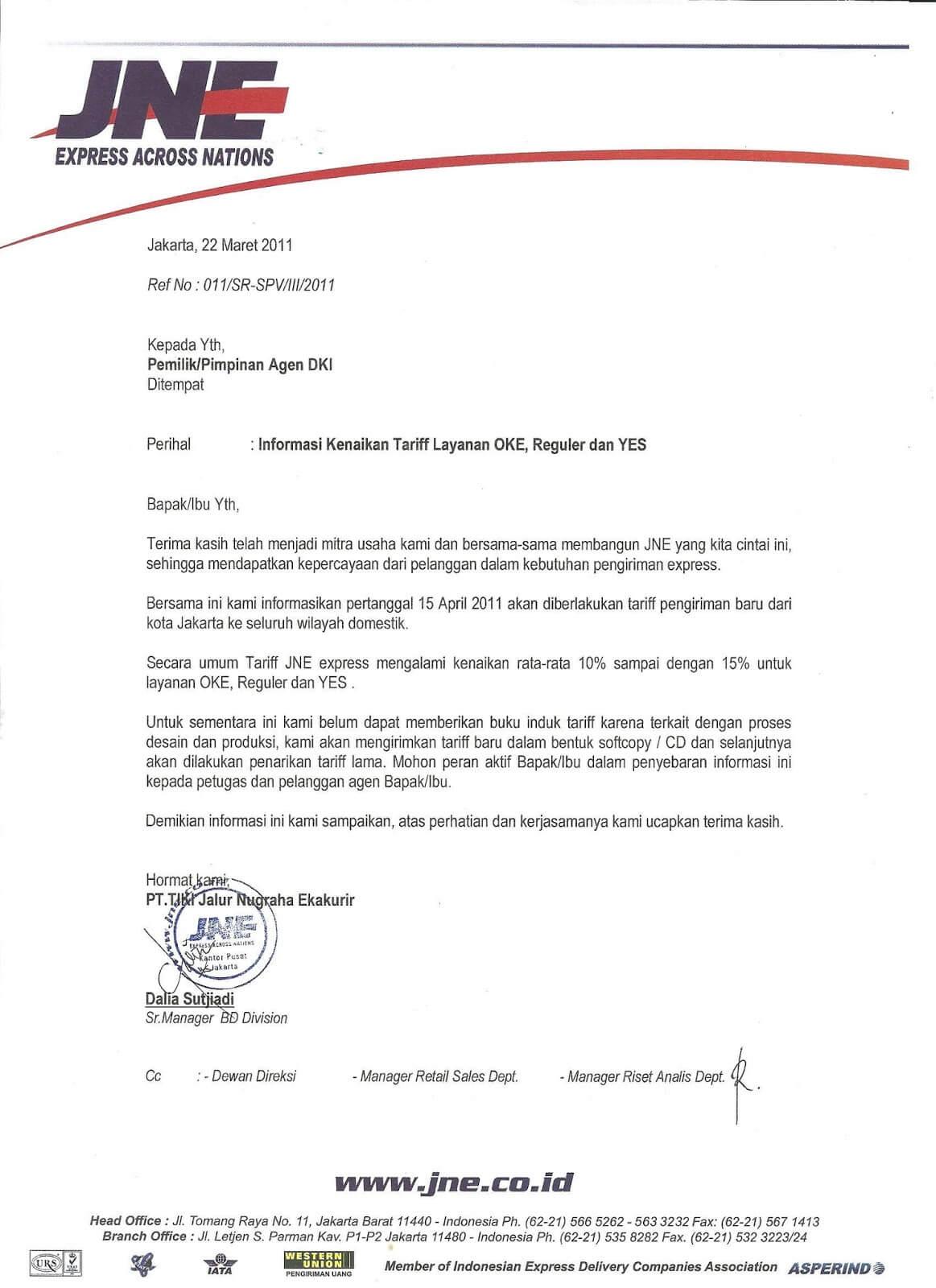 Contoh Surat Pemberitahuan Kegiatan Rt Paling Lengkap