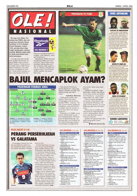 SEMIFINAL LIGA INDONESIA V PERSEBAYA SURABAYA VS PSMS MEDAN