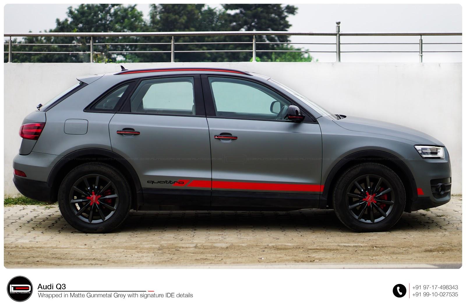 Audi Q3: Full Car Wrap | IDE Autoworks