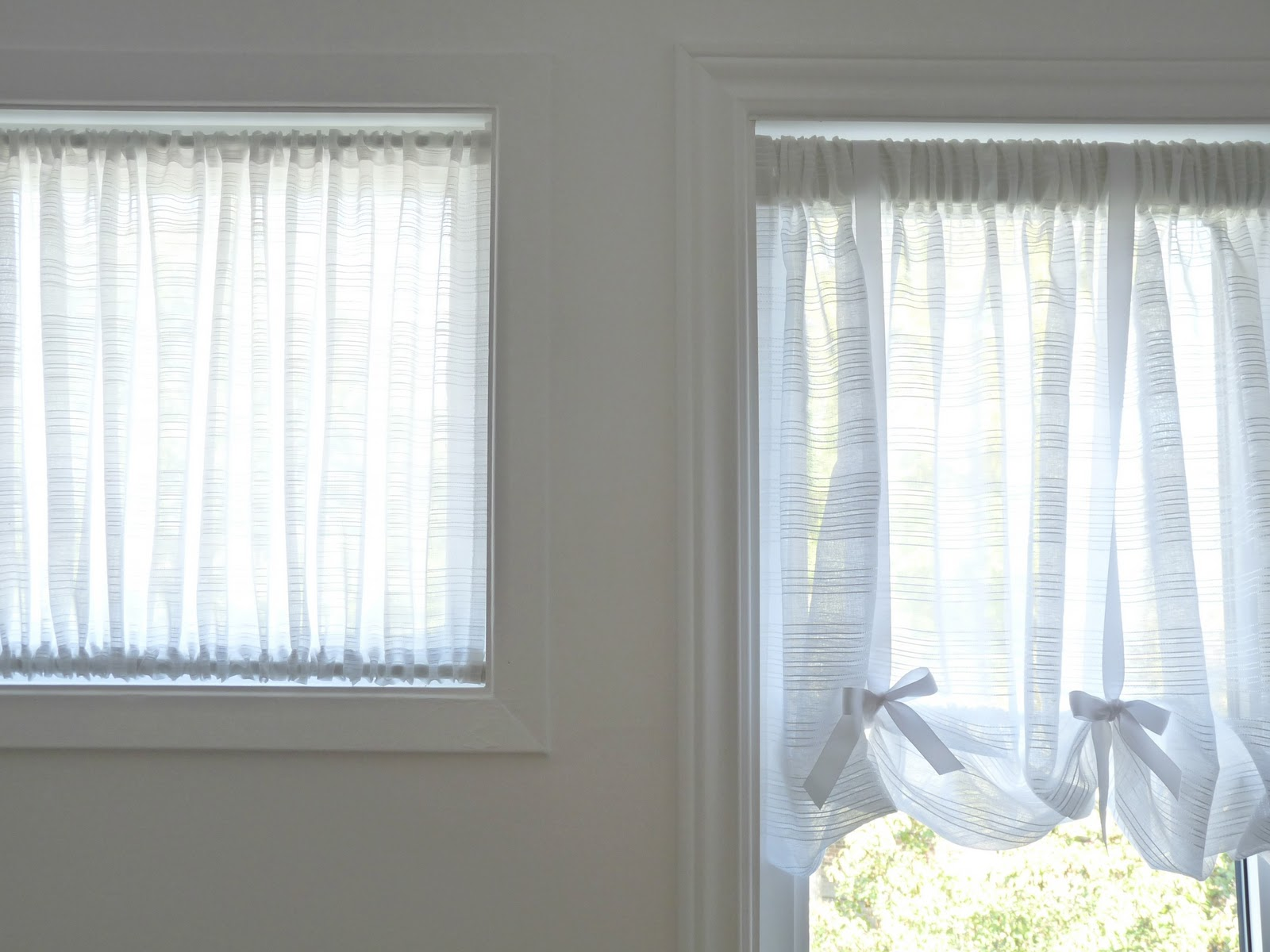 DIY Curtain for Awkward Window