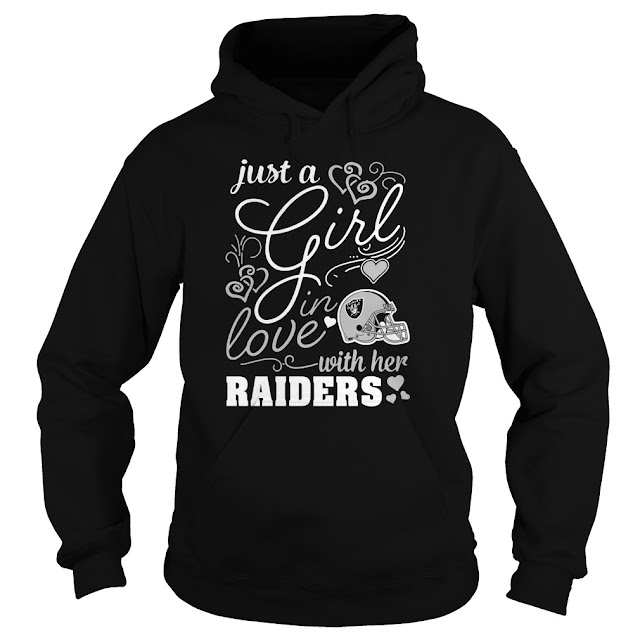 Oakland Raiders - Just A Girl In Love With Her Shirt