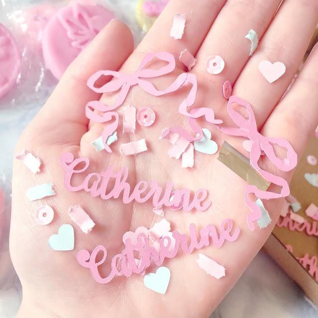 Scent Circus Personalised Confetti | Love, Catherine
