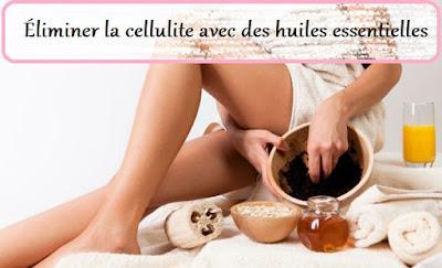 Éliminer la cellulite avec des huiles essentielles