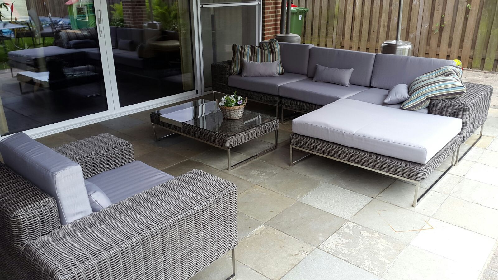 Lounge Bank Tuin : Lounge bank voor balkon arbrini design tuinmeubelen