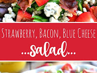 Strawberry Bacon Blue Cheese Salad Recipe