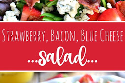 Strawberry Bacon Blue Cheese Salad Recipe