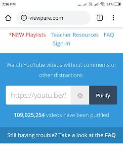 viewpure website sample