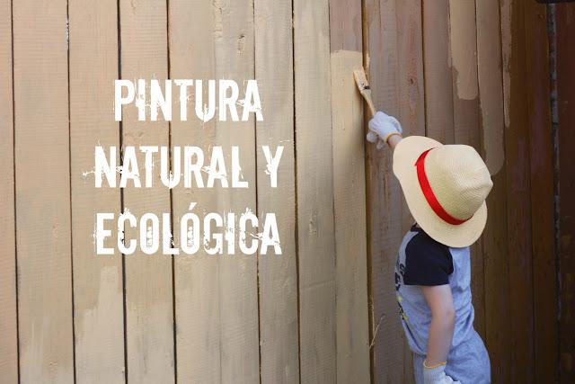 Pinturas sanas, ecológicas y naturales