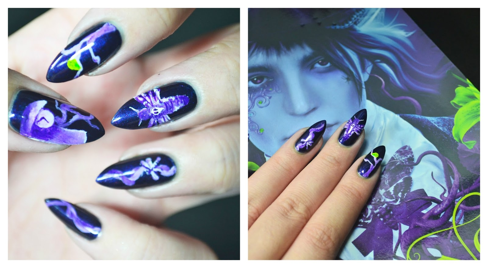 Writer For Misfits A Book Blog Nail Ing It Novel Nails Designs